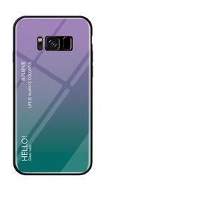 Husa Hybrid Back Degrade pentru Galaxy S8 Purple