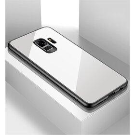 Husa Hybrid Back pentru Galaxy A6 (2018) White