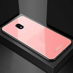 Husa Hybrid Back pentru Galaxy J7 (2017) Rose Gold