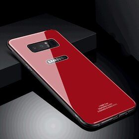 Husa Hybrid Back pentru Galaxy Note 8 Red