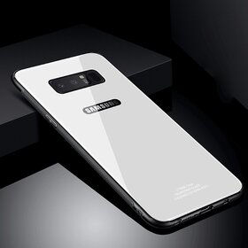 Husa Hybrid Back pentru Galaxy Note 8 Silver