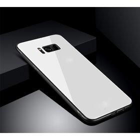 Husa Hybrid Back pentru Galaxy S8 Silver