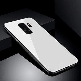 Husa Hybrid Back pentru Galaxy S9+ Silver