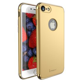 Husa Ipaky 3 in 1 matte pentru iPhone 7 Gold