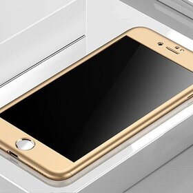 Husa 360 pentru iPhone 6/6s Gold
