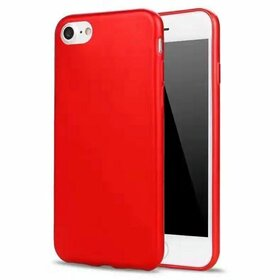 Husa iPhone SE 2 (2020) / iPhone 7 / iPhone 8 model Matte Soft Red