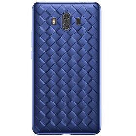 Husa Leather Baseus pentru Hauwei Mate 10 Blue