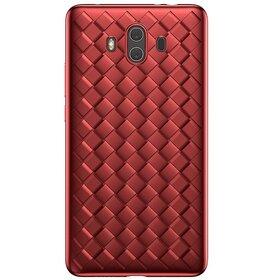 Husa Leather Baseus pentru Hauwei Mate 10 Red