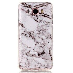 Husa Marble pentru Galaxy A3 (2017) White