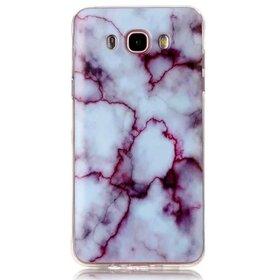 Husa Marble pentru Galaxy A3 (2017) Purple