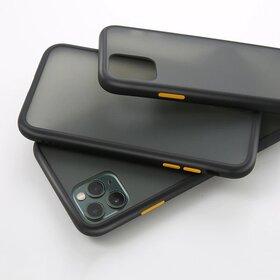 Husa mata cu bumper din silicon pentru Galaxy A10 Black