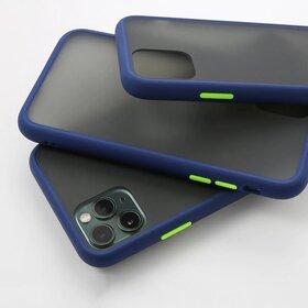 Husa mata cu bumper din silicon pentru Huawei P30 Pro Blue