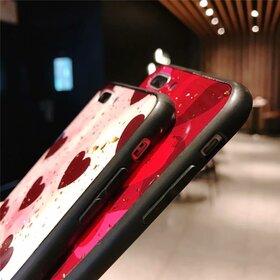 Husa protectie cu model inimi pentru Huawei P30