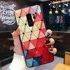 Husa protectie cu model multicolor pentru Galaxy A6 (2018)