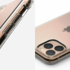 Husa Ringke Air ultra-subtire pentru iPhone 11 Pro Max Transparent