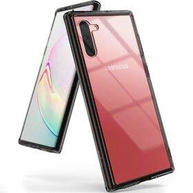 Husa Ringke Fusion PC + Bumper TPU pentru Samsung Galaxy Note 10 Black