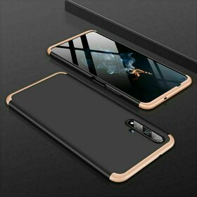 Husa Shield 360 GKK pentru Huawei Nova 5T / Honor 20 / Honor 20 Pro / Honor 20S Black&Gold