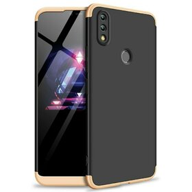 Husa Shield 360 GKK pentru Huawei P Smart (2019) Black&Gold