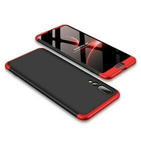 Husa Shield 360 GKK pentru Huawei P20 Black&Red