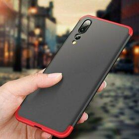 Husa Shield 360 GKK pentru Huawei P20 Pro Black&Red