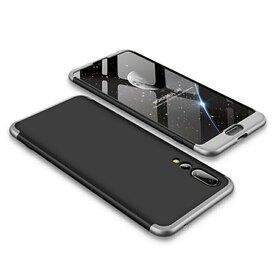 Husa Shield 360 GKK pentru Huawei P20 Pro Black&Silver
