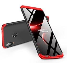 Husa Shield 360 GKK pentru Huawei Y6 (2019) Black&Red