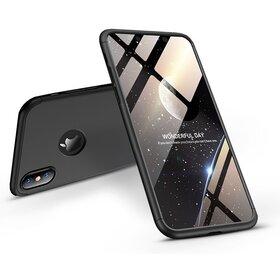 Husa Shield 360 GKK pentru iPhone X Black