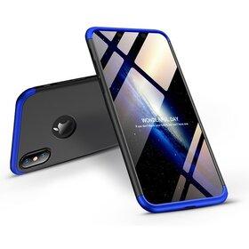 Husa Shield 360 GKK pentru iPhone XR Black&Blue