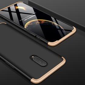 Husa Shield 360 GKK pentru OnePlus 7 Pro Black&Gold