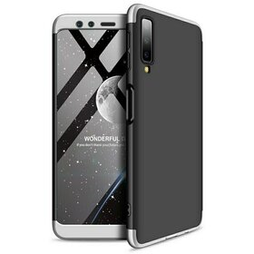 Husa Shield 360 GKK pentru Samsung Galaxy A50/50s/A30s Black&Silver