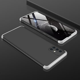Husa Shield 360 GKK pentru Samsung Galaxy A51 Black&Silver