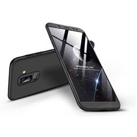 Husa Shield 360 GKK pentru Samsung Galaxy A6 Plus (2018) Black