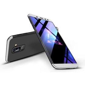 Husa Shield 360 GKK pentru Samsung Galaxy A6 Plus (2018) Black&Silver