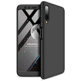 Husa Shield 360 GKK pentru Samsung Galaxy A7 (2018) Black