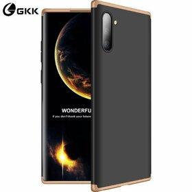 Husa Shield 360 GKK pentru Samsung Galaxy Note 10 Black&Gold