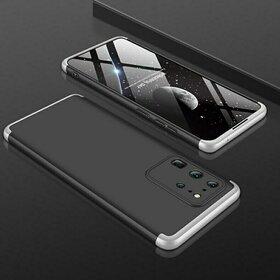 Husa Shield 360 GKK pentru Samsung S20 Plus Black&Silver