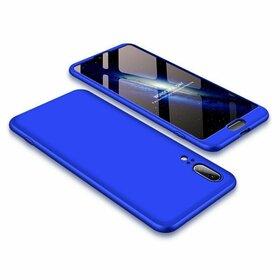 Husa Shield 360 pentru Huawei P20 Blue