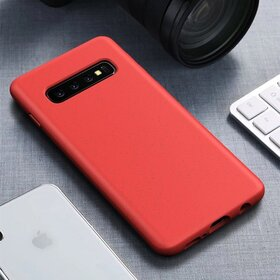 Husa Silicon Eco pentru Galaxy S10 Red