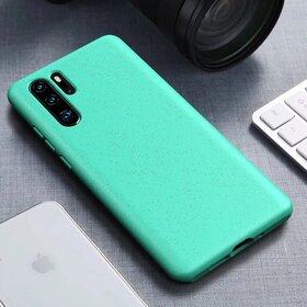 Husa Silicon Eco pentru Huawei P30 Pro Green Mint