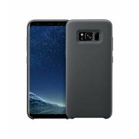 Husa Silicon Premium pentru Galaxy A8 (2018) Black