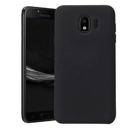 Husa Silicon Premium pentru Galaxy J4 (2018) Black