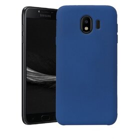 Husa Silicon Premium pentru Galaxy J4 (2018) Navy