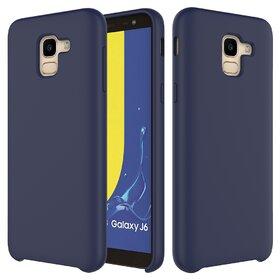 Husa Silicon Premium pentru Galaxy J6 Plus (2018) Baby Blue