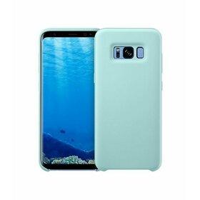 Husa Silicon Premium pentru Galaxy J7 (2017) Baby Blue