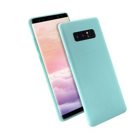 Husa Silicon Premium pentru Galaxy Note 8 Baby Blue