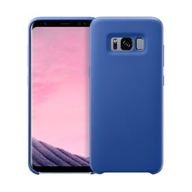Husa Silicon Premium pentru Galaxy S8 Blue