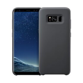 Husa Silicon Premium pentru Galaxy S8 Plus Black