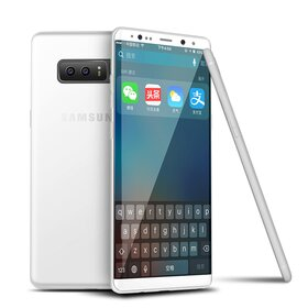 Husa Slim pentru Galaxy Note 8 White