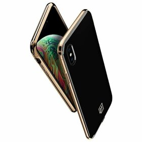 Husa Spigen La Manon Gold pentru Iphone X/XS Black&Gold