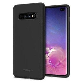 Husa Spigen Silicone Fit pentru Samsung Galaxy S10 Plus Black